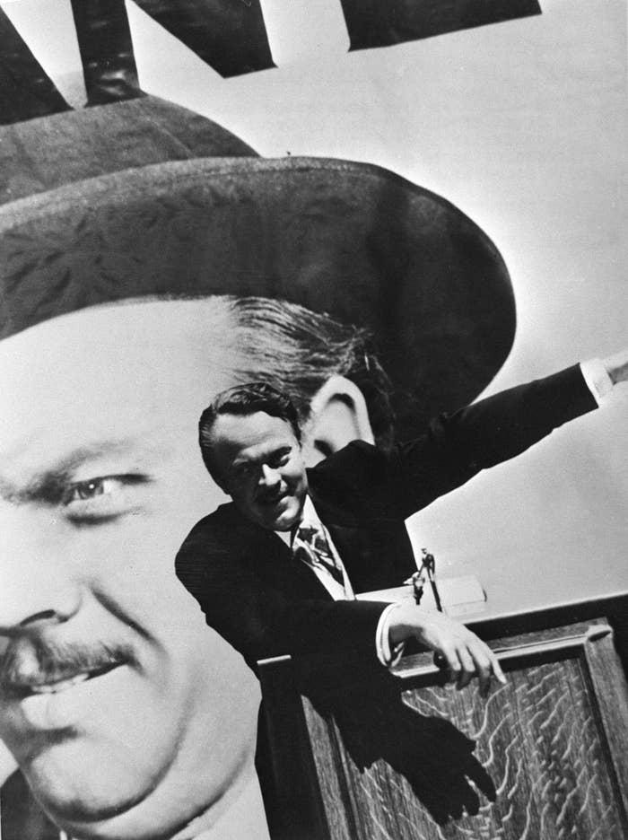 "Charles Foster Kane in ""Citizen Kane"""