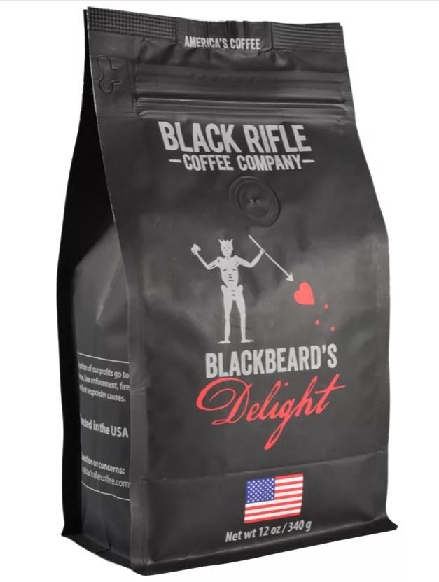 a bag of coffee