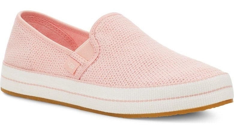 The shoe in Rose Mallow