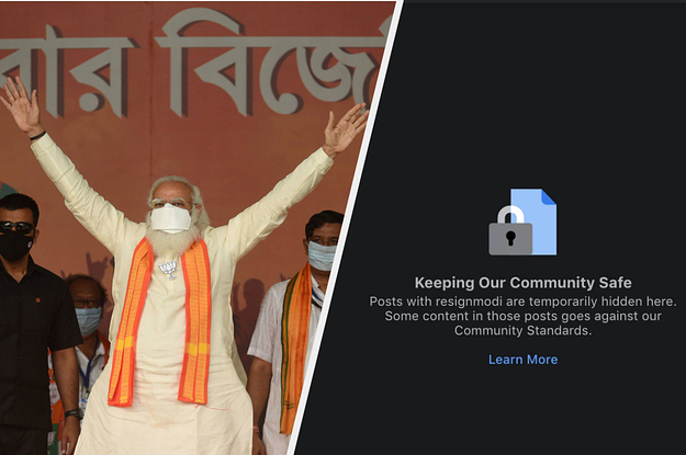 As Indians Face A COVID-19 Crisis, Facebook Temporarily Hid Posts With #ResignModi