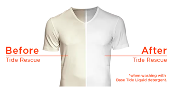 before: off-white shirt, after: bright white shirt
