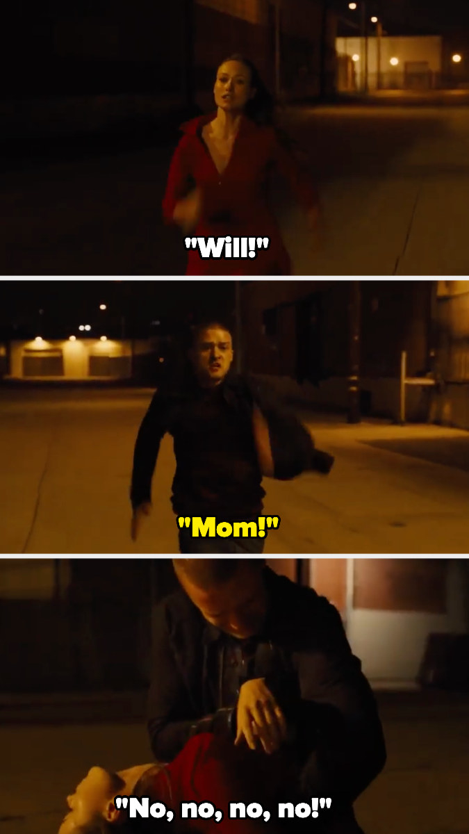 Will fails to save his mother within seconds of doing so