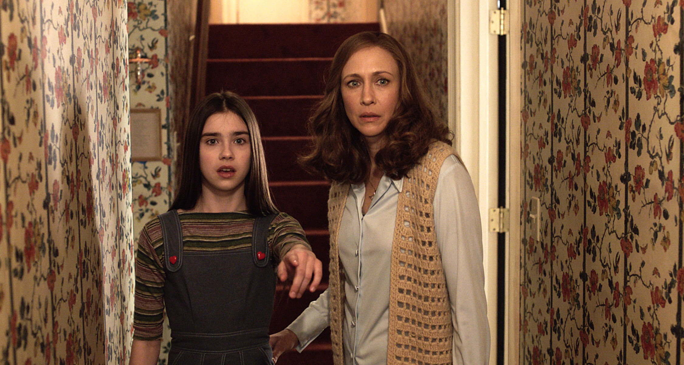 Judy and Lorraine Warren in The Conjuring 2