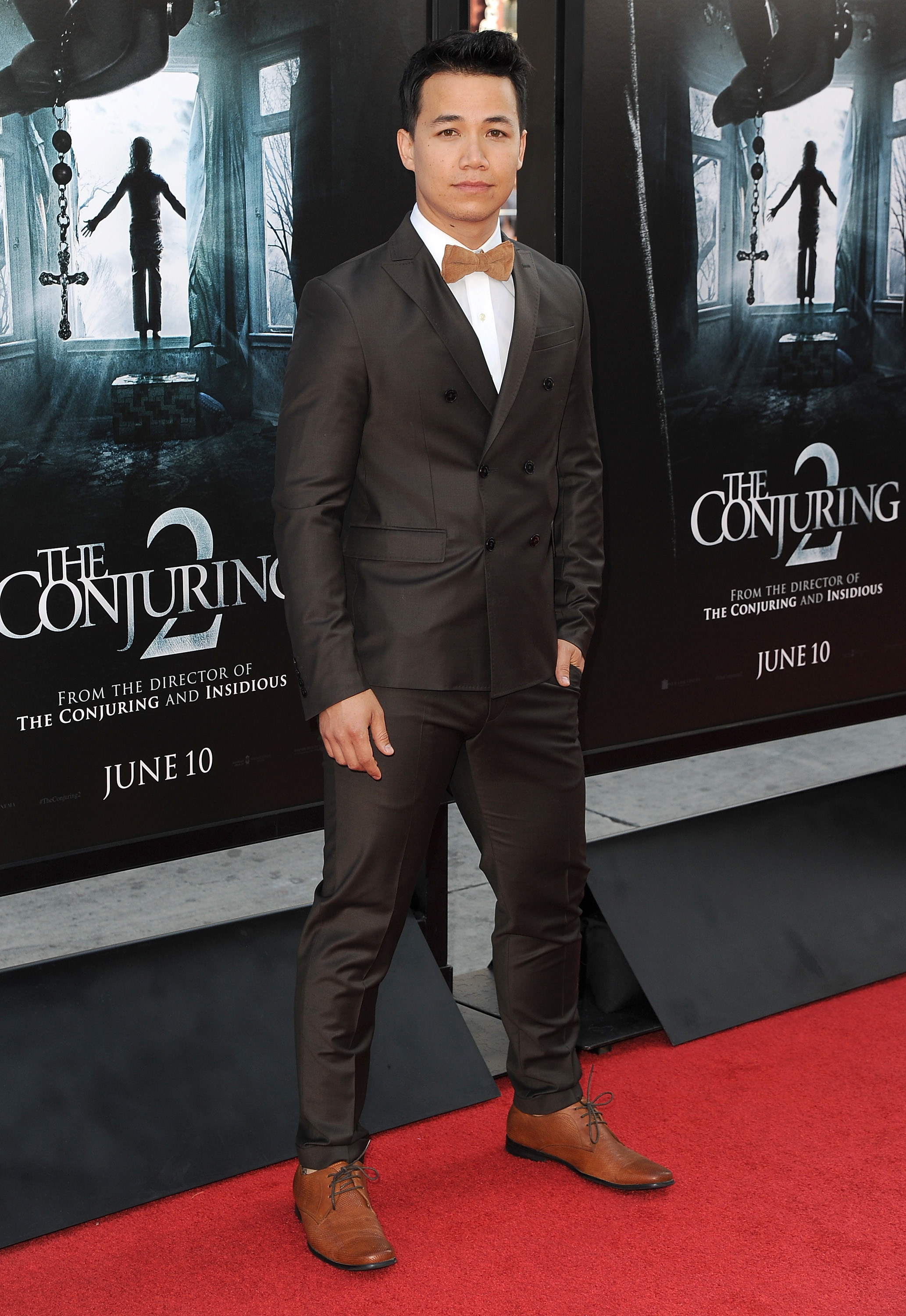 Shannon Kook on the red carpet