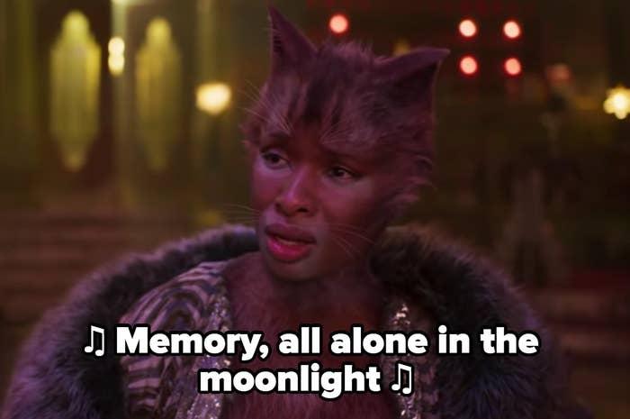 Jennifer Hudson as Grizabella in Cats (2019)