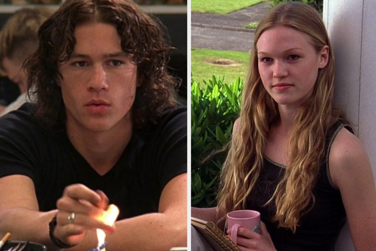 """Patrick and Kat from """"10 Things I Hate About You"""""""