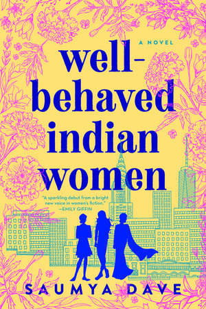 The book cover features the silhouettes of three women in front of the New York City skyline