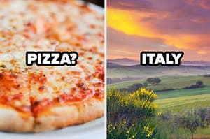 pizza? italy