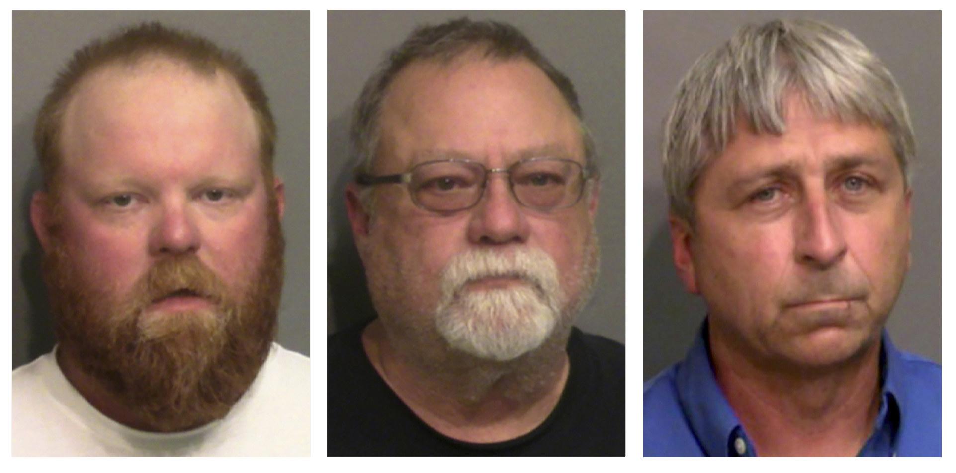 Mugshots of three men