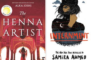 Two great books with South Asian representation are The Henna Artist and Internment