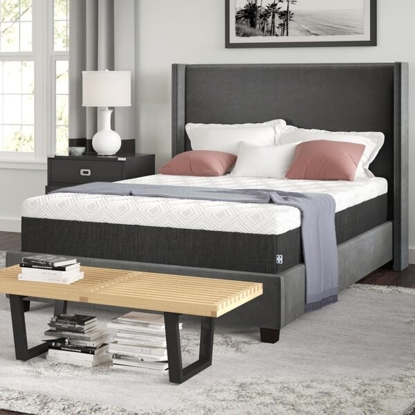 The mattress in queen-size