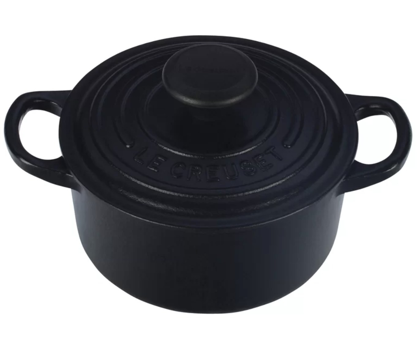 black Dutch oven