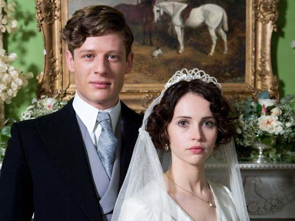 """James Norton in """"Cheerful Weather for the Wedding"""""""