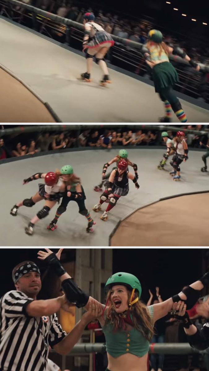 """Roller Derby stills from """"Whip It"""""""