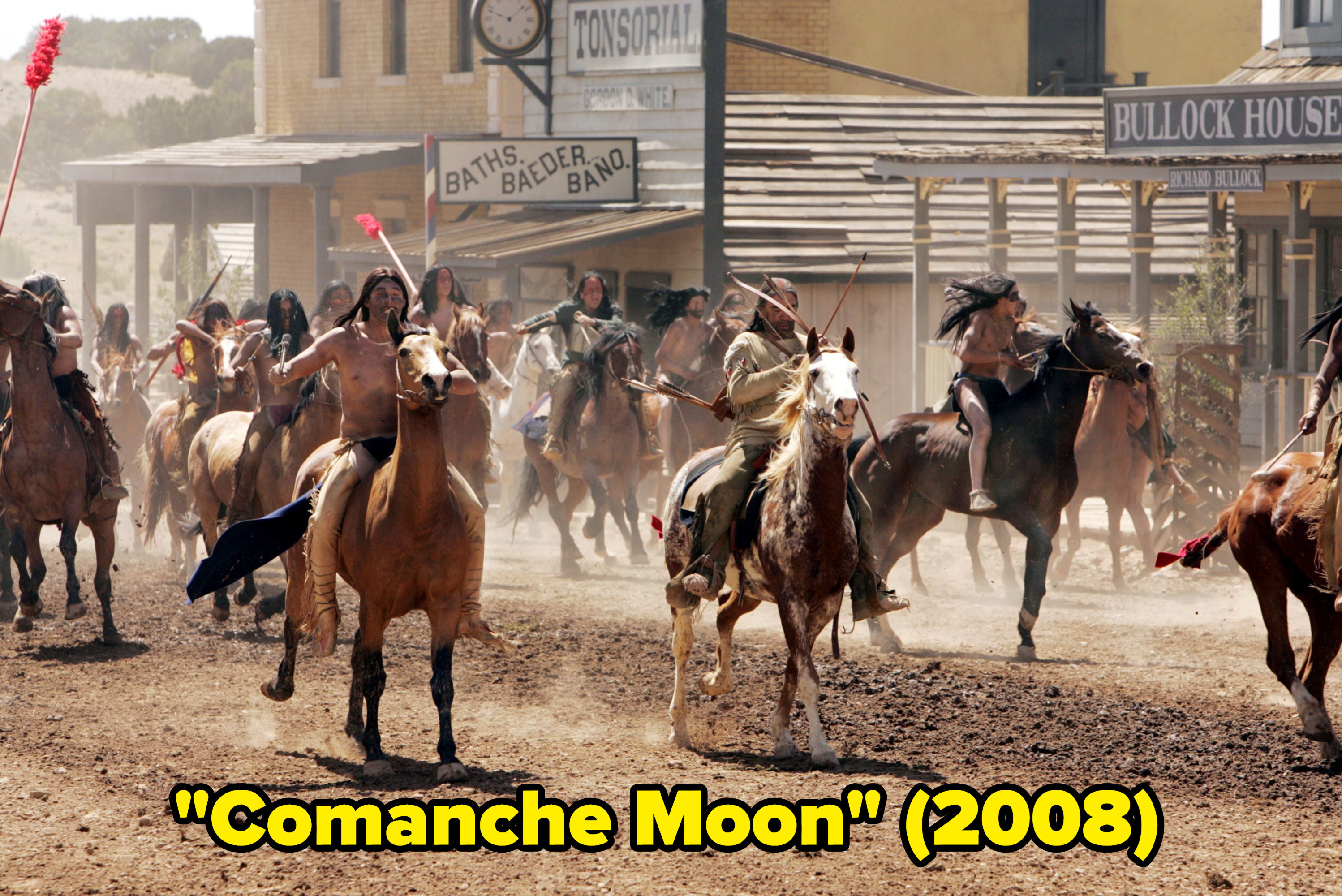 """Horses from """"Comanche Moon"""""""