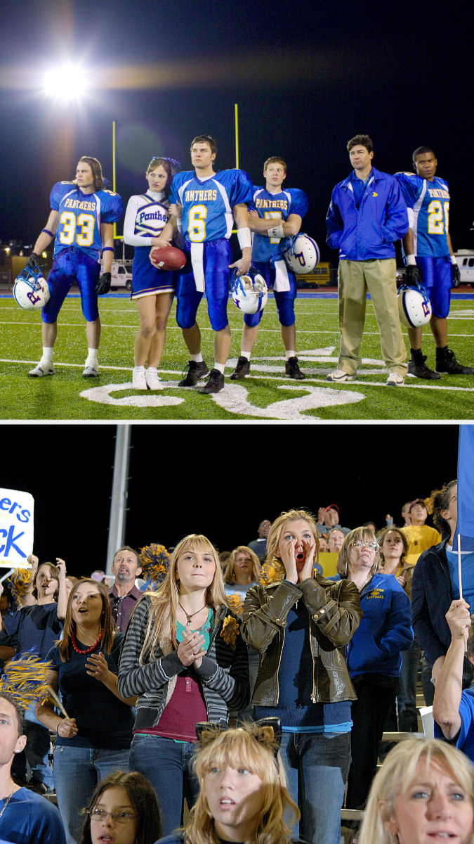 """Friday Night Lights"" football game"