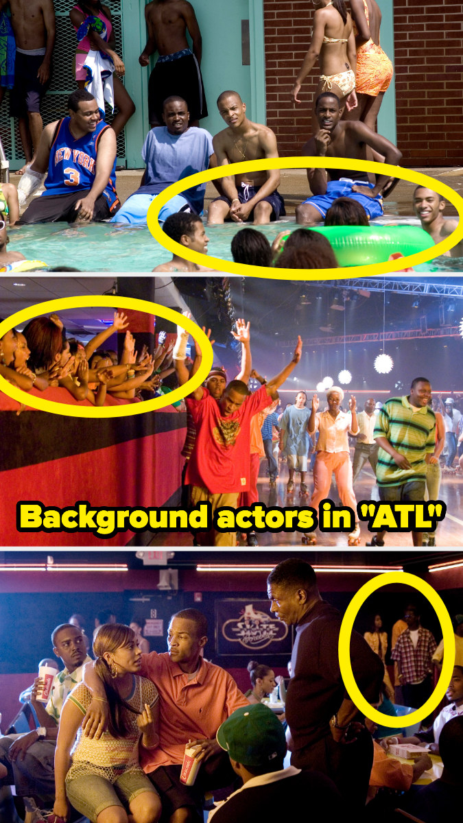 """Background actors circled in """"ATL"""""""