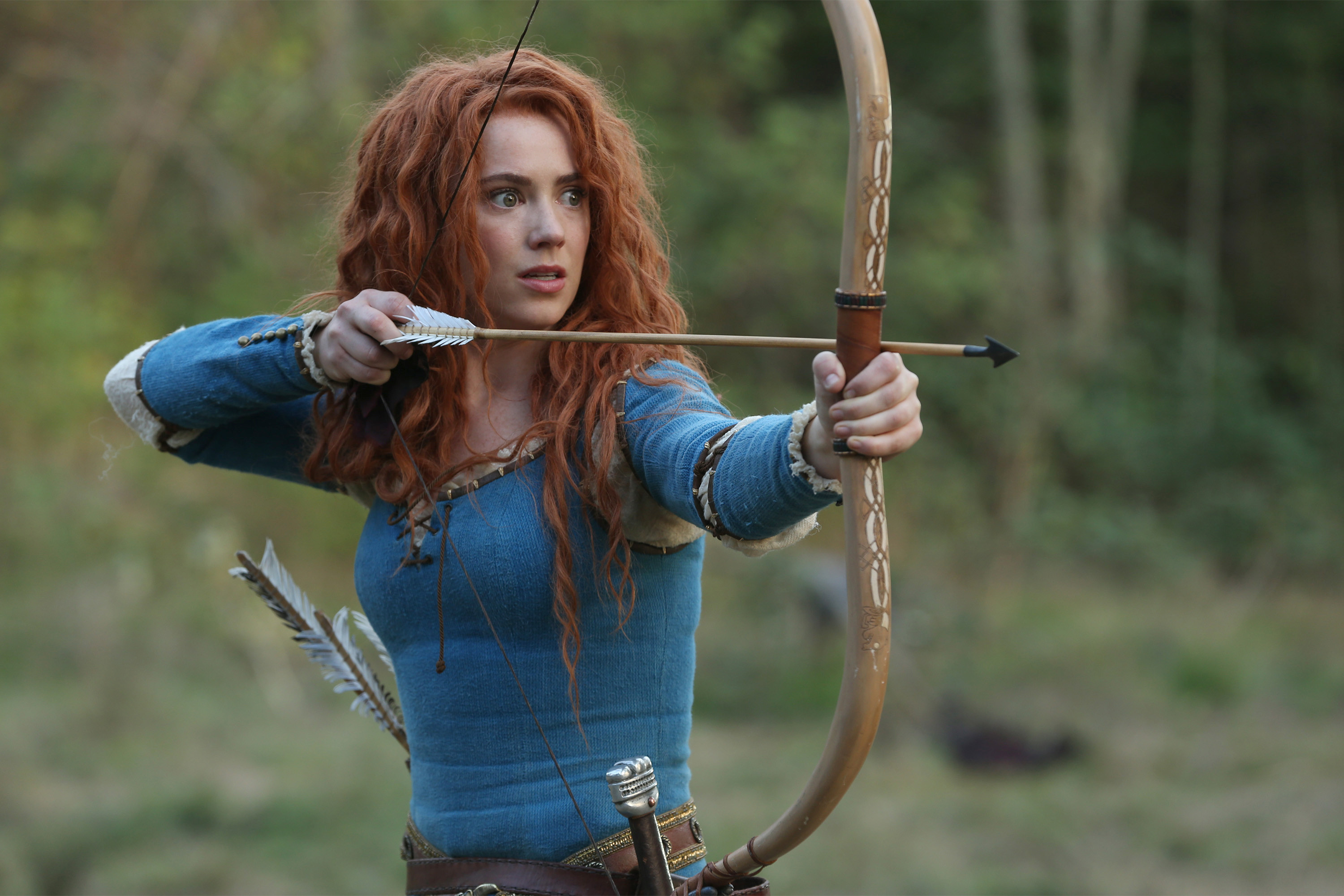 Amy Manson in Once Upon a Time