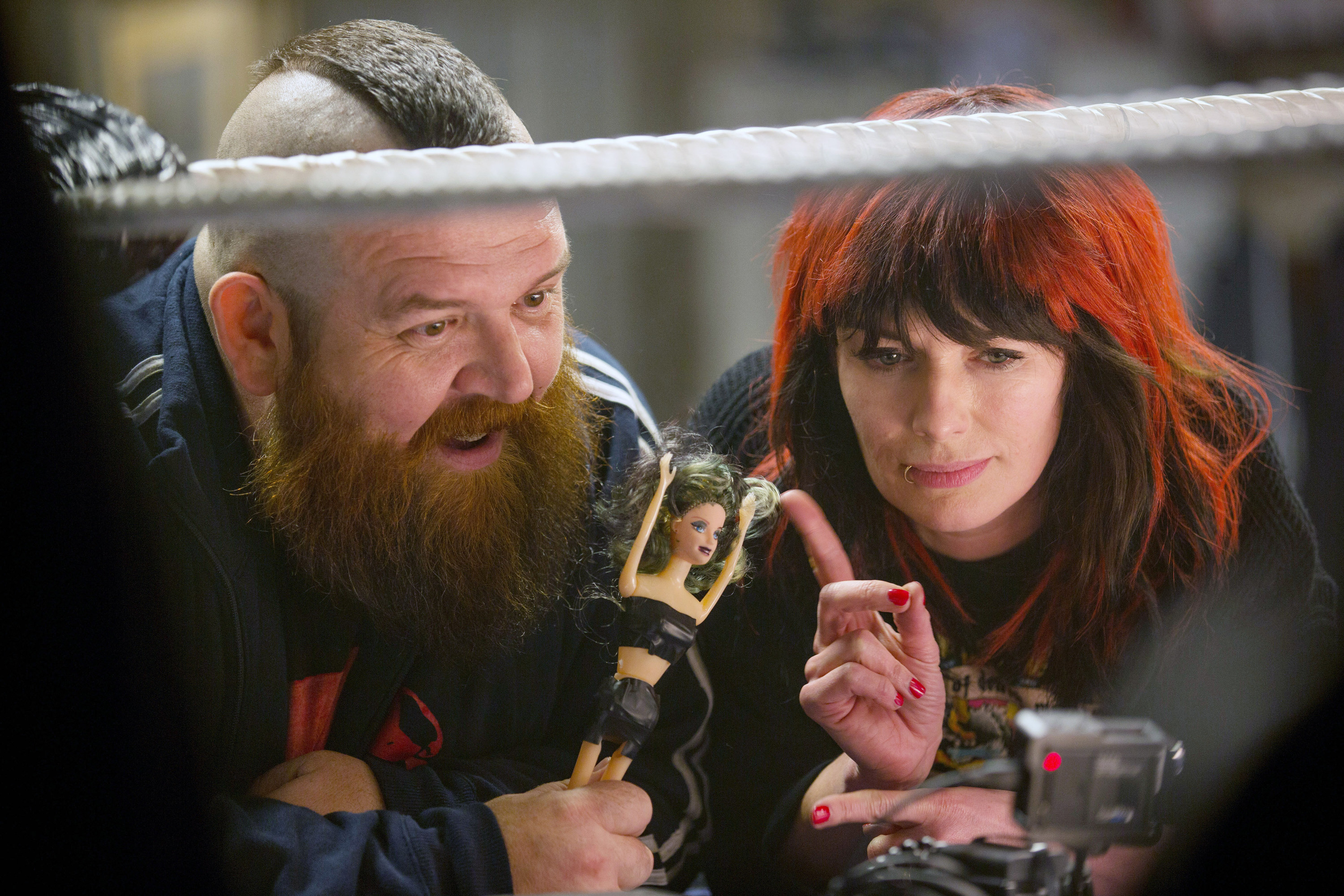 Nick Frost in Fighting with My Family