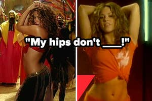 my hips don't lie shakira