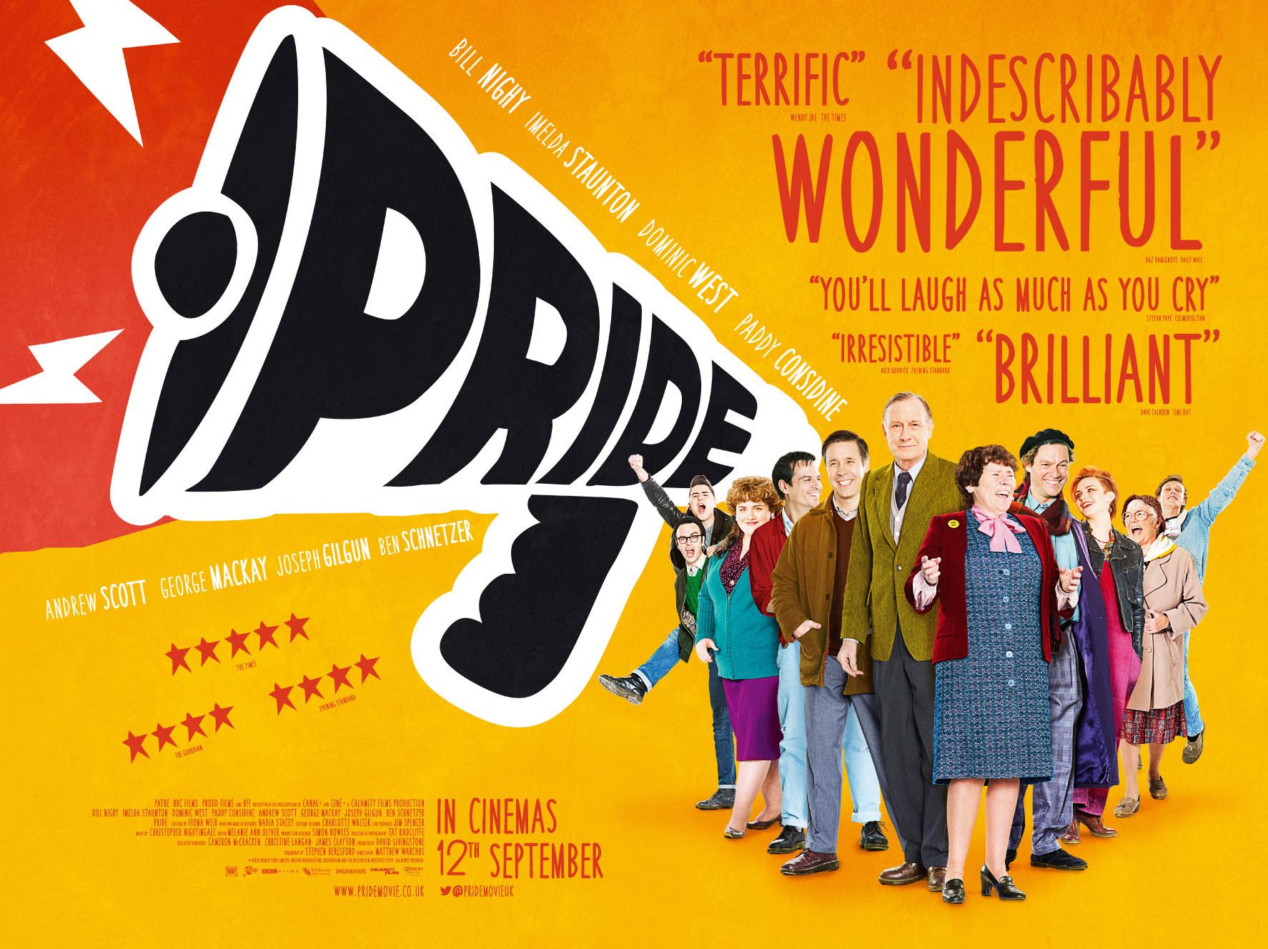 Pride movie posts