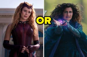 Scarlet Witch or Agatha Harkness
