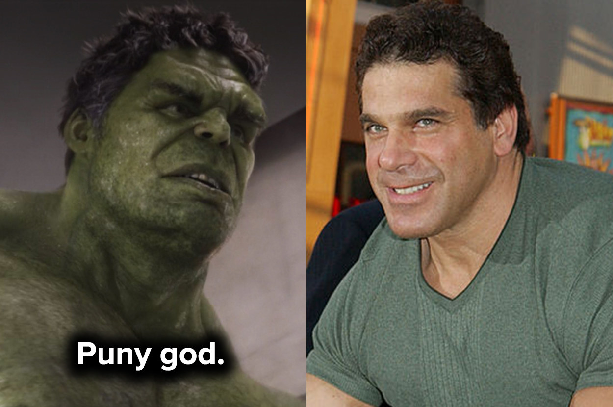 Lou's been part of the Hulk franchise for decades
