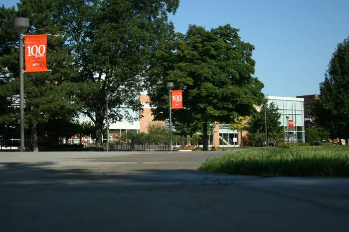The campus of Bowling Green State University