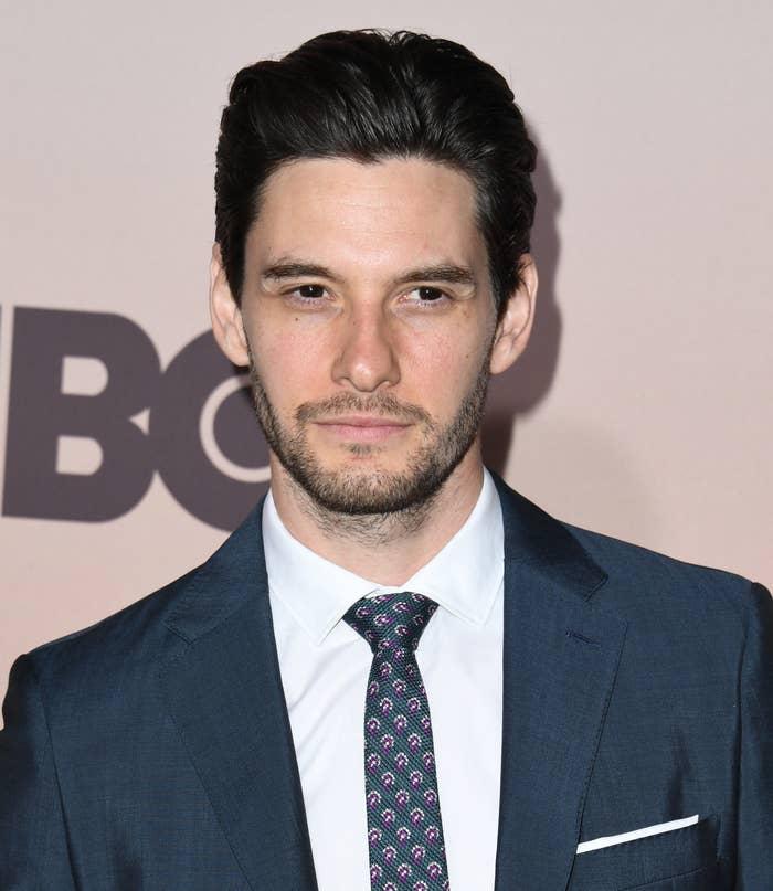 Ben Barnes in a suit