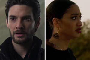Ben Barnes in Shadow and Bone and Olivia from All American
