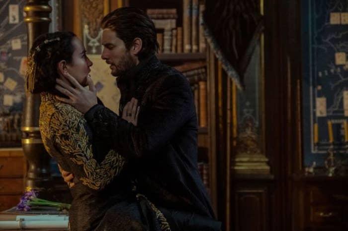 Alina and Kirigan kiss