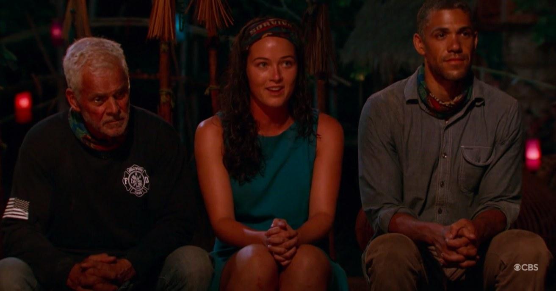 """Three cast members on Season 32 of """"Survivor"""""""
