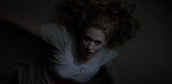 Mary Winchester on the ceiling