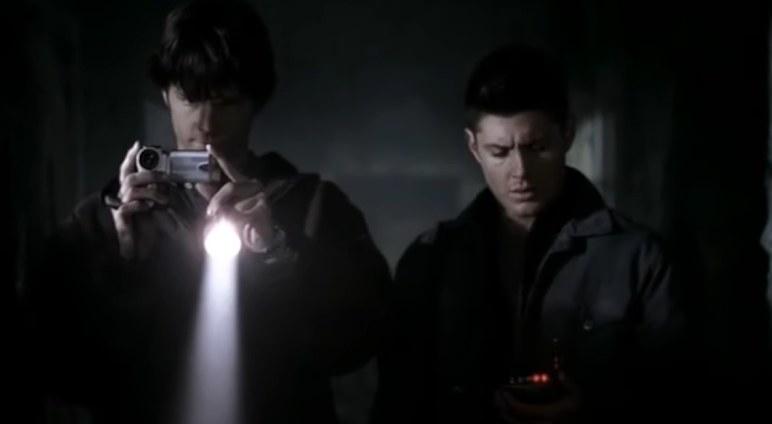 Sam and Dean investigating an Asylum