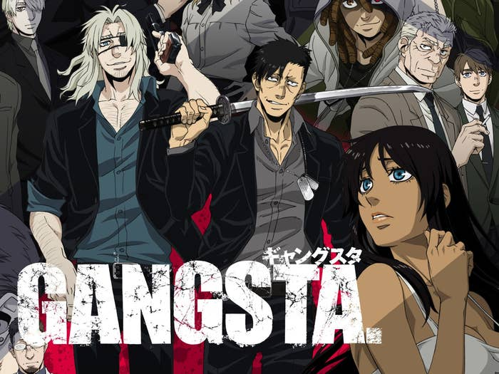 The cover of the anime Gangsta