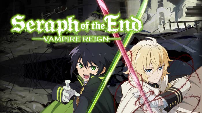 The cover of the anime Seraph of the End
