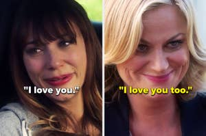 Ann and Leslie saying,