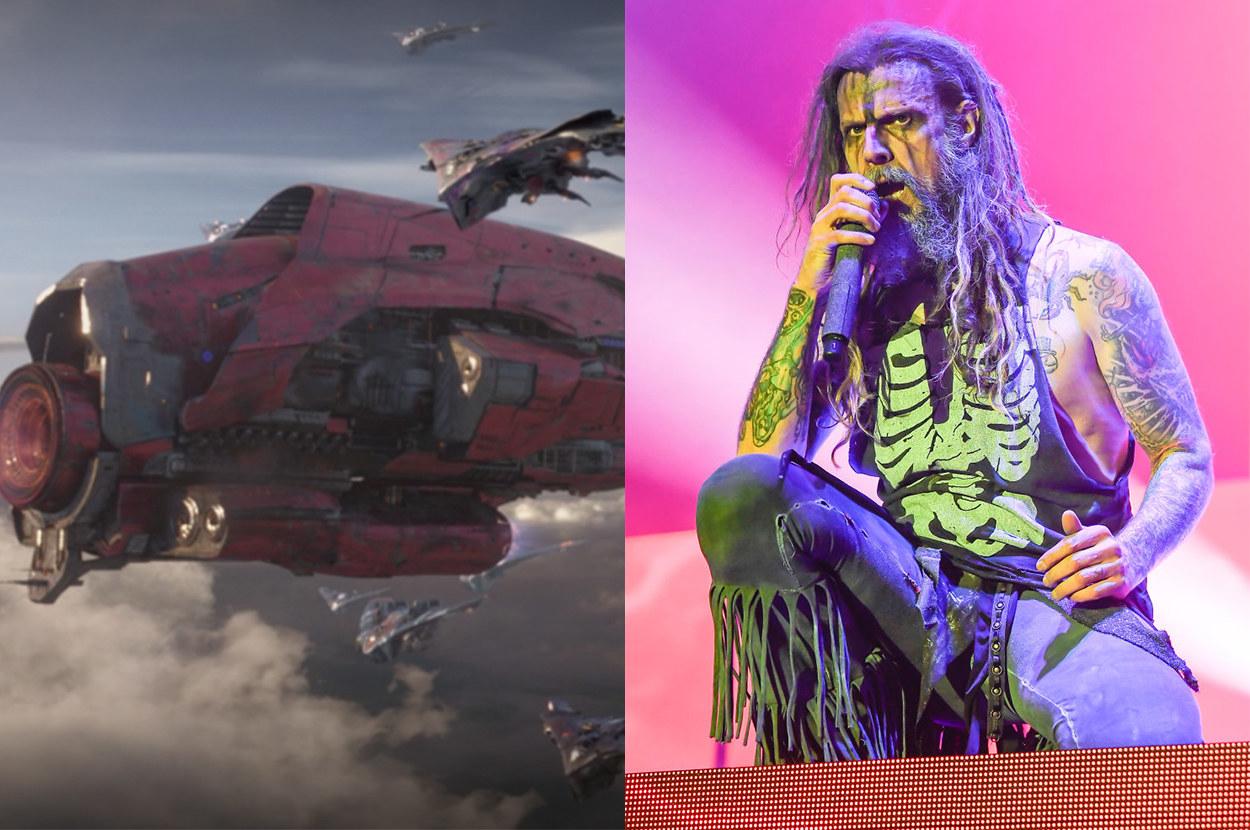 the rock musician voiced Yondu's ship's AI