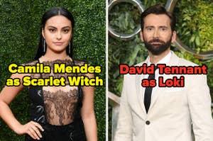 Camila Mendes作为猩红色女巫和大卫叛徒作为Loki