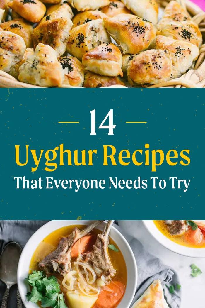 Various Uyghur recipes