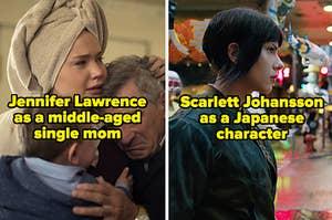 詹妮弗·劳伦斯可能并不是最合适的疲惫,中年单身妈妈