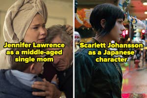 Jennifer Lawrence may not have been the best fit to play a weary, middle-aged single mom
