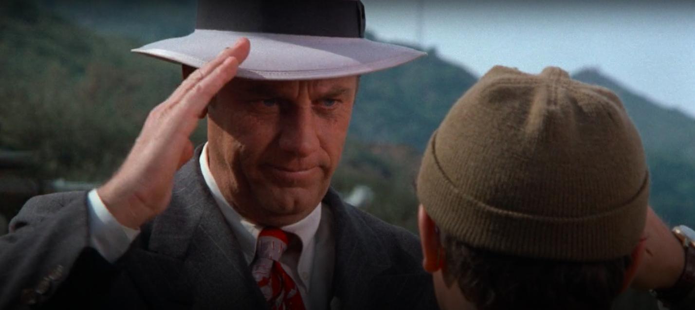 """Henry Blake saluting Radar on """"Mash"""""""