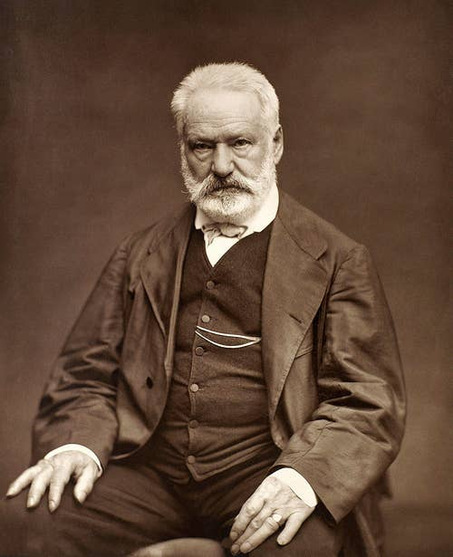 Portrait of Hugo Victor