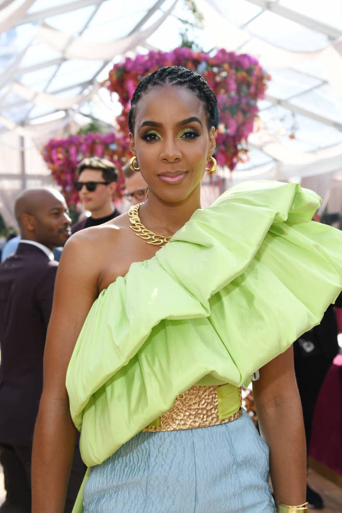 Kelly Rowland at the 2020 Roc Nation Brunch