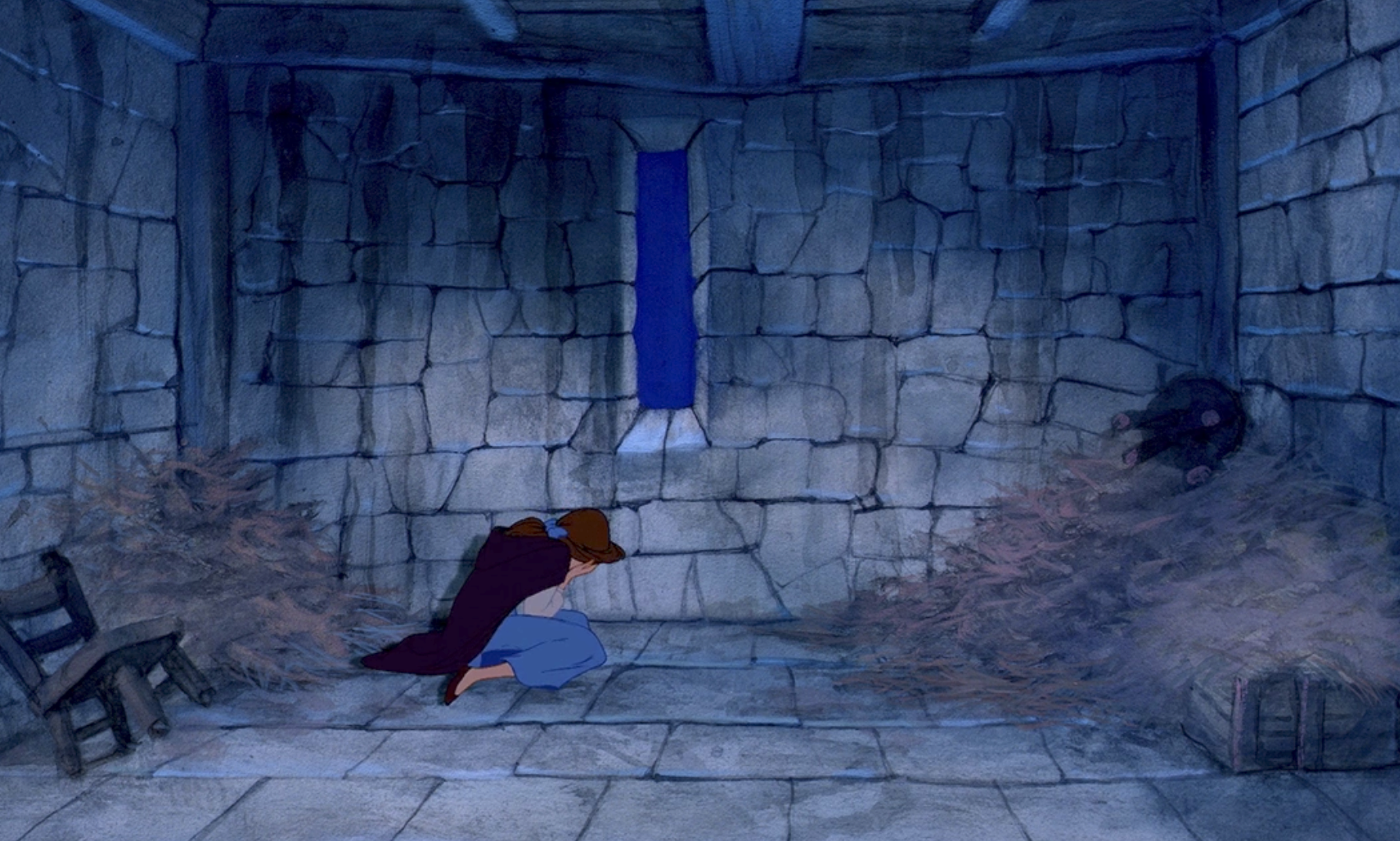 Belle in a cell