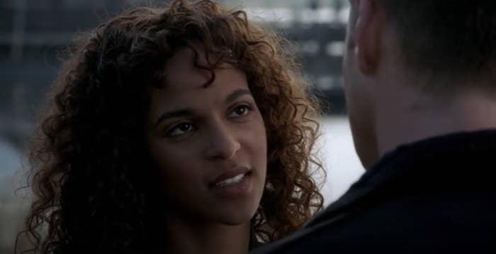 Cassie talking to Dean Winchester