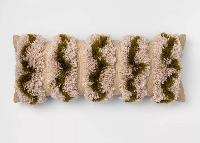 The tufted lumbar pillow