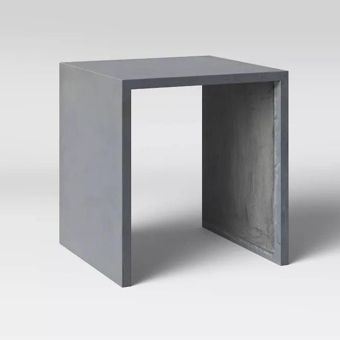 The concrete accent table