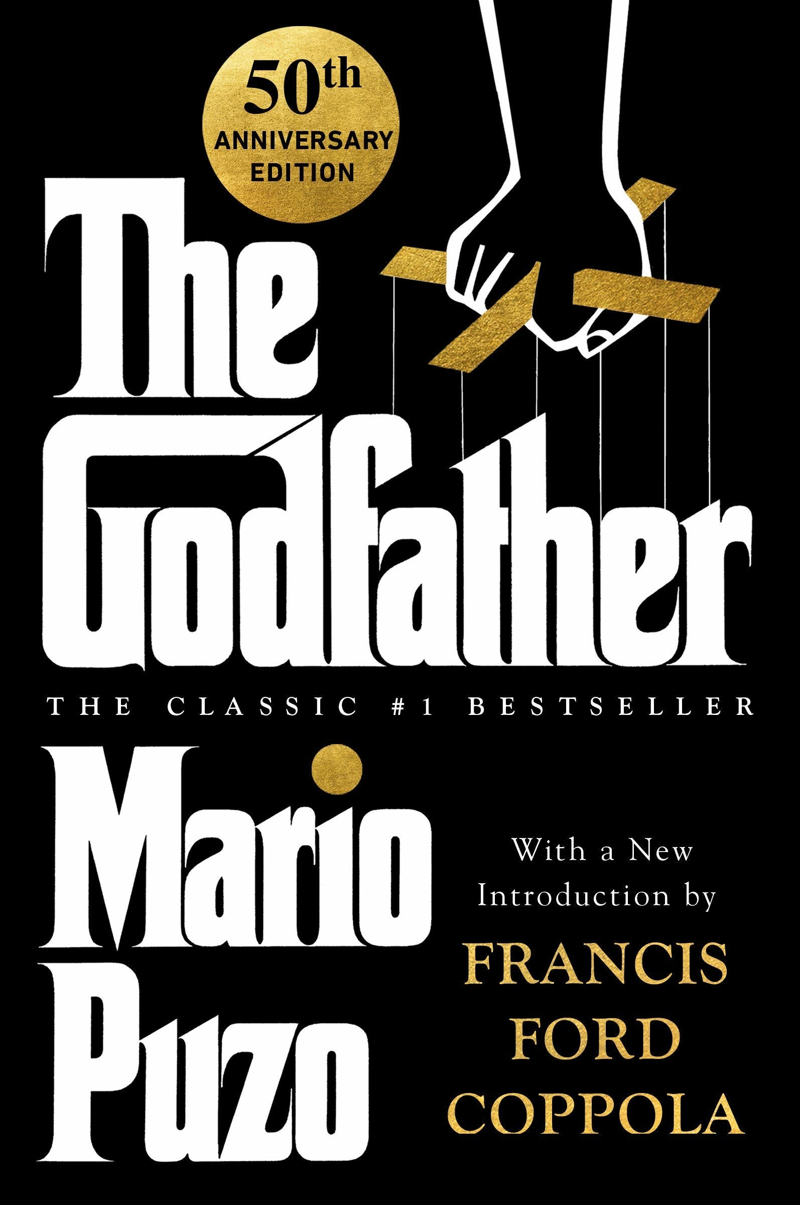 The cover of The Godfather by Mario Puzo